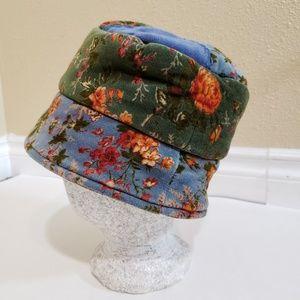 Cornelloki Vintage 90s Patchwork Bucket Hat
